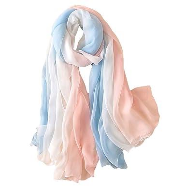 a608e28d2837a Seidenschal Damen Luxuriöse Schals Elegante Seidentuch Hohe Qualität  Hautfreundlich Anti-Allergie Halstuch Tuch als Stola