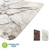 Best Kitchen Mats Cushioneds - EverGrace Anti Fatigue Kitchen Mat, Marble Print Kitchen Review