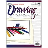 Royal Langnickel 100-Sheet Drawing Essentials Artist Paper Pad, 9-Inch by 12-Inch