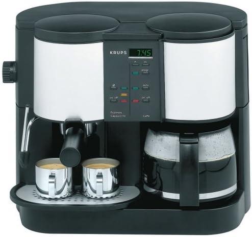 Amazon.com: Krups 888 – 43 Caffe Centro Tiempo 10-cup Bomba ...