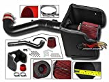 xterra cold air intake - Velocity Concepts Cold Heat Shield Air Intake Matte Black + RED Filter For Nissan 05-12 Pathfinder / 05-15 Frontier / 05-15 Xterra 4.0L V6