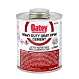 Oatey 31037 Cpvc Heavy DutyCement, 32 oz, Gray