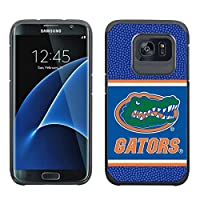 NCAA Florida Gators True Grip Football Pebble Grain Feel Samsung Galaxy Alternate S7 Edge Case