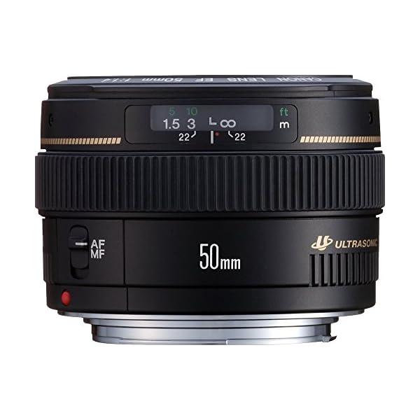 RetinaPix Canon EF 50mm f/1.4 USM Prime Lens for Canon DSLR Camera