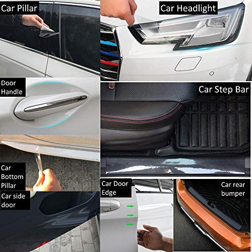 2010 clear protective foil bumper protection transparent exact fit for Seat Alhambra