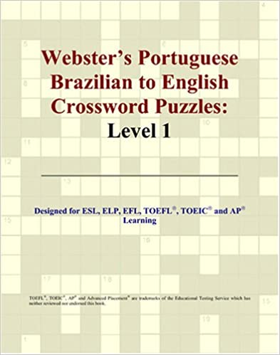 Websters English to Portuguese Brazilian Crossword Puzzles: Level 9