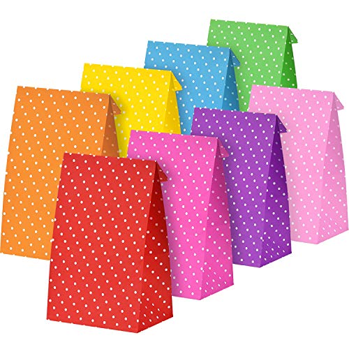 Tatuo 24 Pieces Party Bags Gift Dot Paper