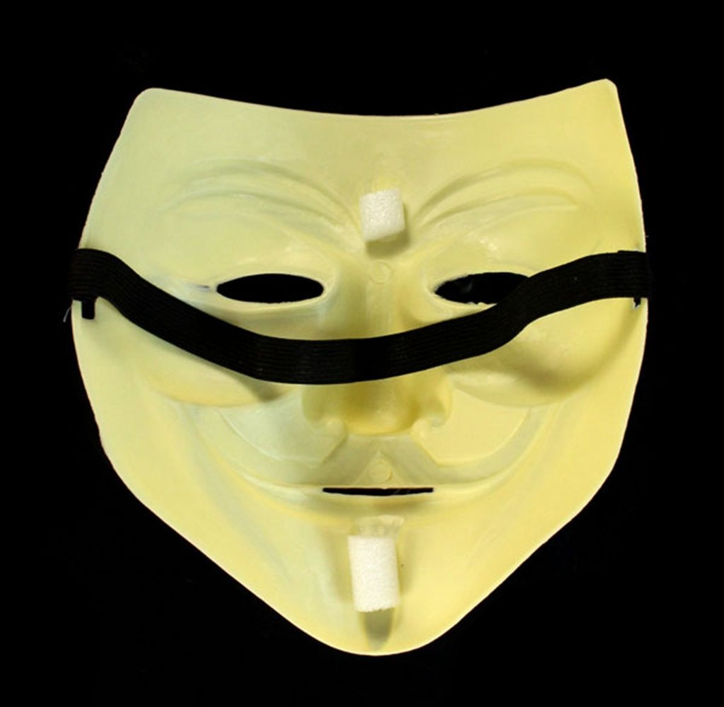 Usstore Halloween Masquerade Face Mask V For Vendetta Fawkes Fancy Dress Party Toy For Kid Baby Child Christmas Gift Toy Gift