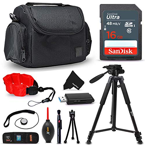 Ideal Canon Digital Camera Accessories KIT for Canon PowerSh