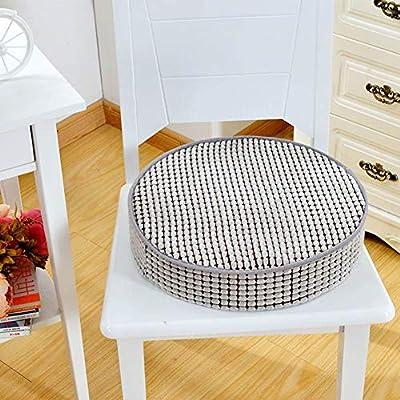 Yoillione - Cojines Redondos para sillas de jardín, Almohadillas ...