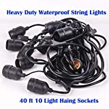 Ashialight Solar LED Outdoor String Lights with