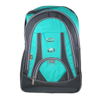 f35429e10d Paramveer Boy s and Girl s Canvas Elegance School Bag (Multicolour)   Amazon.in  Bags
