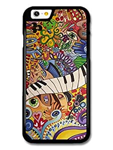 The Beatles Rock Art Piano Eyes Illustration Ipod Touch 4 A10367