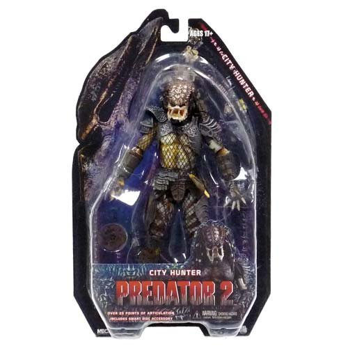 NECA Predators 7 inches Action Figure Series 4 City Hunter (Predator 2)
