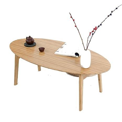 Mesa Plegable Estilo.Ksungb Mesa Plegable Estilo Japones Sencillo Bambu
