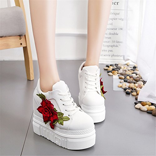 Shoes wedges platform ace women with sneakers canvas white flower shoes wedges platform ace women with sneakers canvas white flower hidden shock high gtrrx8p mightylinksfo