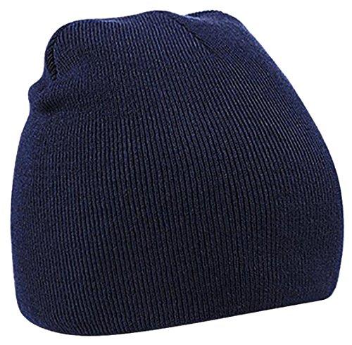 cruiize-unisex-winter-toboggan-warm-hat-chunky-knitted-skully-beanie-navy