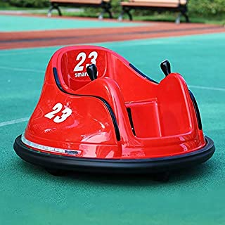 OFEFAN⭐ Baby Bumper car, Ride On Toy Car with Safety Belt, Ride On Bumper Car with Simplified Joystick Controls, Anti-Flat Tires, Spin 360 Degrees, Easy to use - No Assembly, for Boys Girls (Red)