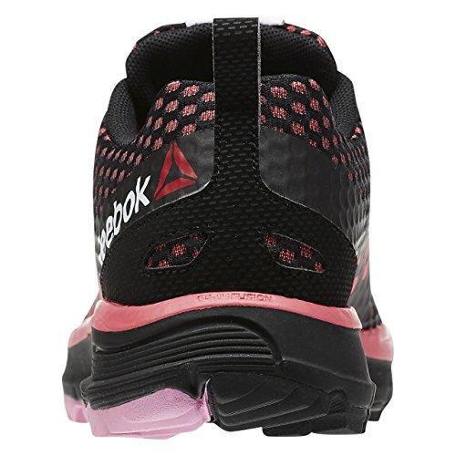 Reebok Wild Terrain Zapatillas de deporte, Mujer Negro / Rosa / Blanco (Black/Fearless Pink/Icono Pink/White)