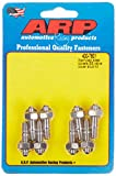 ARP 4007601 Valve Cover Studs With Hex Nuts, Polished Stainless Steel, Package Of 8, For Select Stamped Steel Covers
