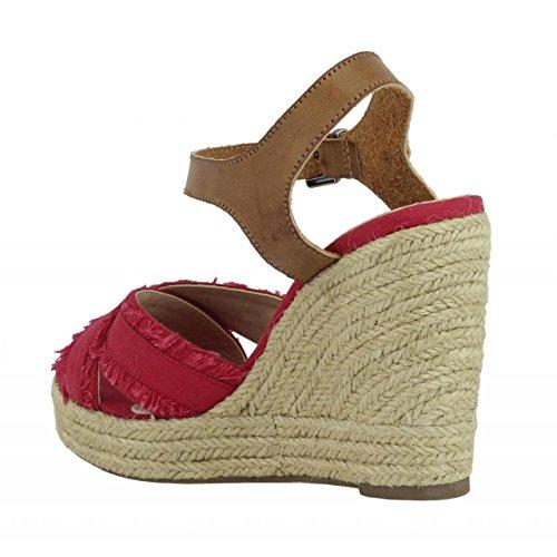 Chaussures compensées pour Femme REFRESH 61746 LONC ROJO