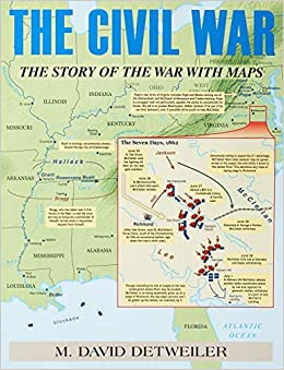 Civil War Battlefields Map on