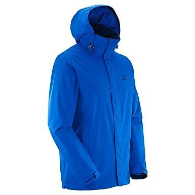 31f58bb544a2 Salomon Mens Elemental AD Hooded Waterproof Jacket (XXL