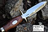 Overall Length : 12.0 inches blade length: 7.0 inch Walnut Handle: 5.0 inches Only Over 18's Can Buy this Item.