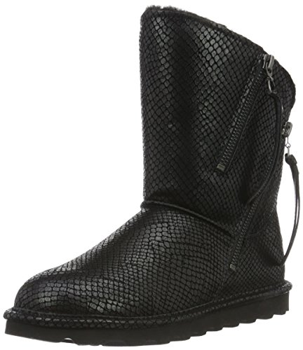BEARPAW Damen Mimi Fashion Boot Schwarze Schlange