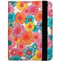 Capa Case Novo Kindle (básico) 10ª Geração Auto Hibernação - Flores 5
