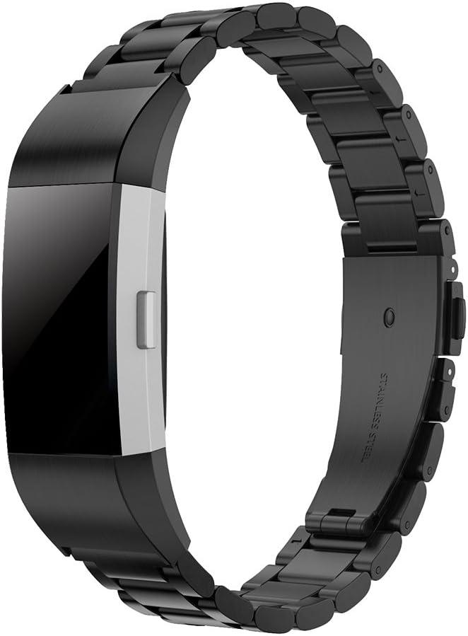 Simpeak Correa Compatible para Fitbit Charge 2 (5.5-8.1 Pulgadas)