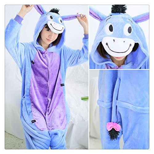Halloween Autumn and Winter Pajama Sets Cartoon Sleepwear Women Pajamas Christmas Flannel Animal Stitch Panda Unicorn Pajama Donkey S