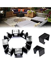 Patio Furniture Clips,Outdoor Patio Wicker Sectional Sofa Rattan Furniture Clips Chair Fasteners 10 Pack