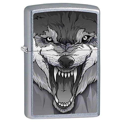 (Zippo Snarling Wolf Lighter)
