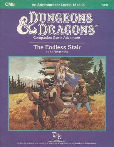 The Endless Stair (Dungeons and Dragons Module CM8) by Ed Greenwood - Mall Greenwood Stores