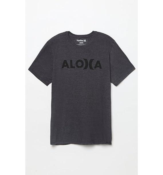 35808761c1 Hurley JJF Aloha Push Through T-Shirt - Short-Sleeve - Men's Heather ...