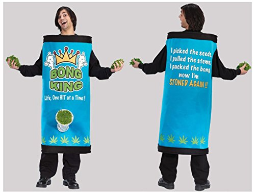 Fun World Bong King Men's Adult Halloween Costume One Size Fits Most #5451 ()