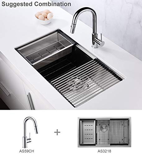 Aguastella As59 Pull Down Bar Sink Faucet Single Handle