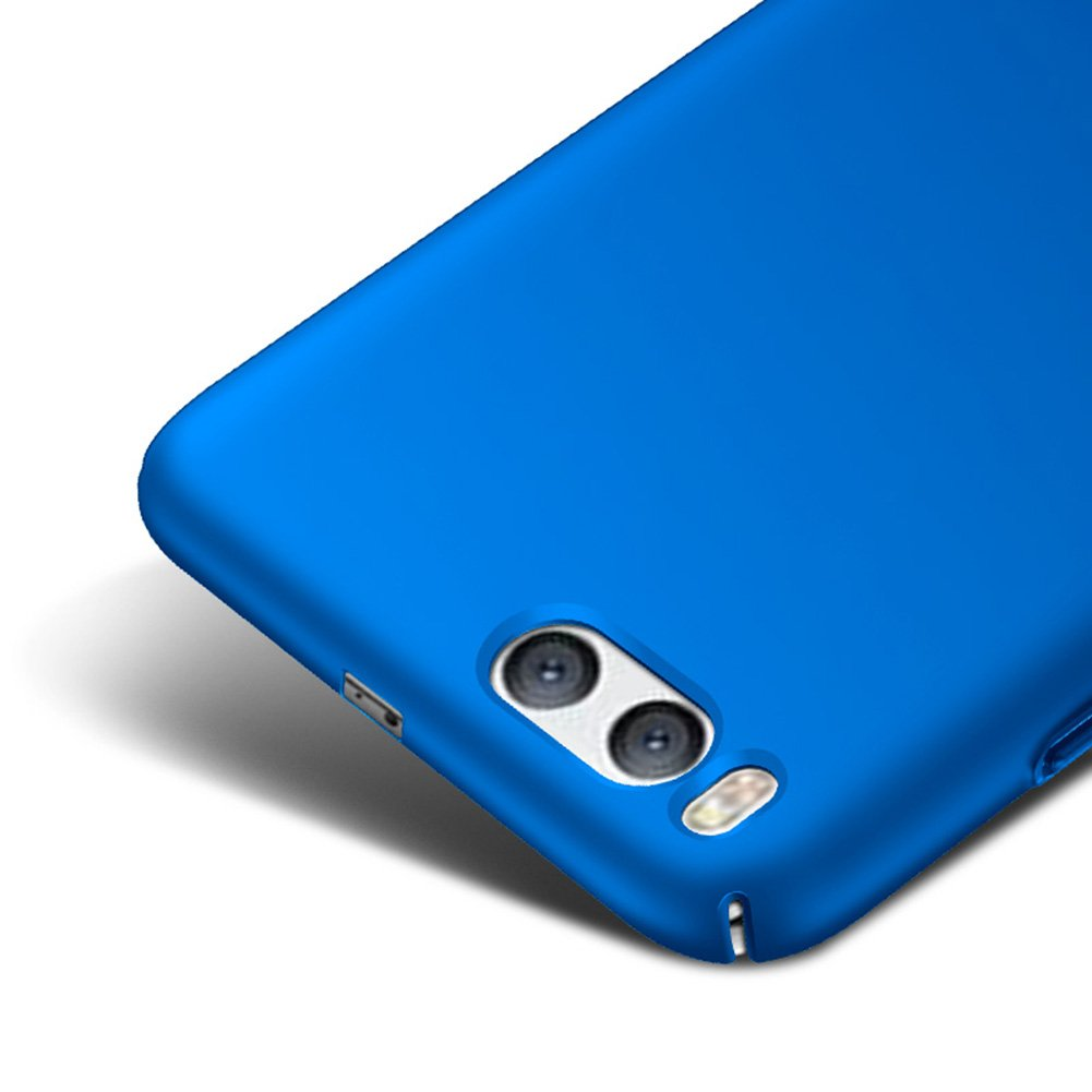 Blue Ultra Thin Case Cover + Protective Film For Xiaomi Mi 6 Vooway® MS70364