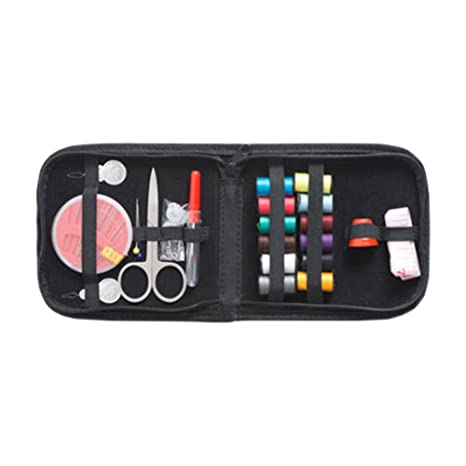 35ad260acd Amazon.com   TerrificCorner Sewing Kit with Thread Scissors Needles Sewing  Supplies for Beginners