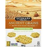 SESMARK FOODS Ancient Grains Crackers-Parmesan, 100g