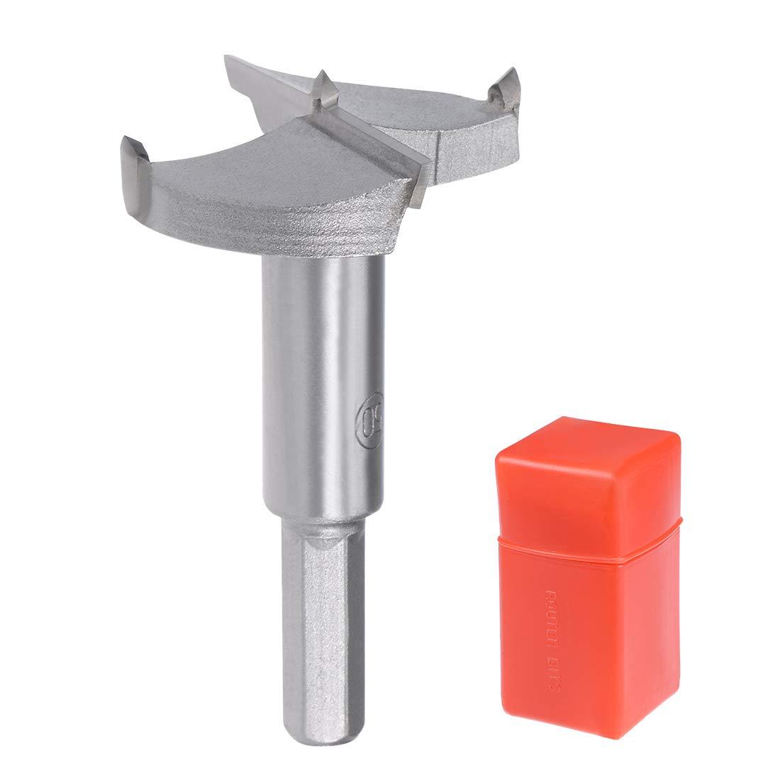 9mm Hex Shank sourcingmap 80mm Hinge Boring Forstner Drill Bit