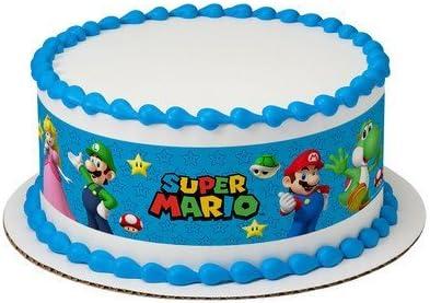 Cupcake Topper 12 Super Mario Decoraciones De Azúcar Pastel