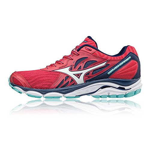 14 Multicolore bluedep Basses 001 whi Femme Wave teaberry Mizuno Sneakers Inspire YpwqE