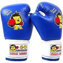 Kangkang Children's Sanda Boxing Gloves Gloves Playing Sandbags Sandbags Knuckles Fighting Weapon Child Boxing - Kickboxing Glove Full Finger Gloves -MMA-2