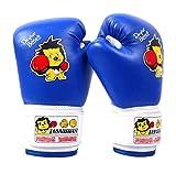 Kangkang@ Children's Sanda Boxing Gloves Gloves Playing Sandbags Sandbags Knuckles Fighting Weapon Child Boxing - Kickboxing Glove Full Finger Gloves -MMA-2