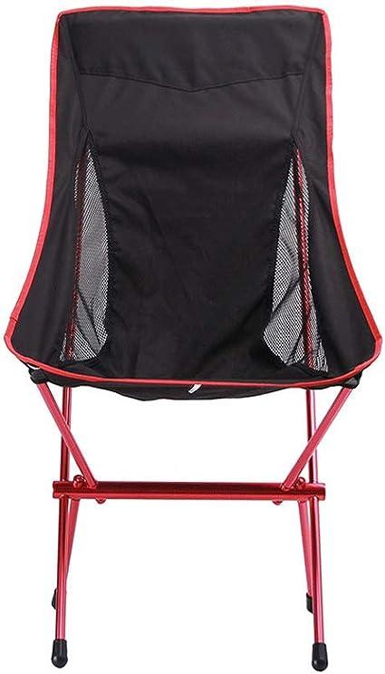 Silla de camping silla plegable al aire libre silla de pesca ...