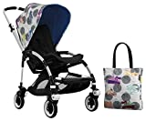 Bugaboo Bee3 Accessory Pack - Andy Warhol Transport/Royal Blue (Special Edition)