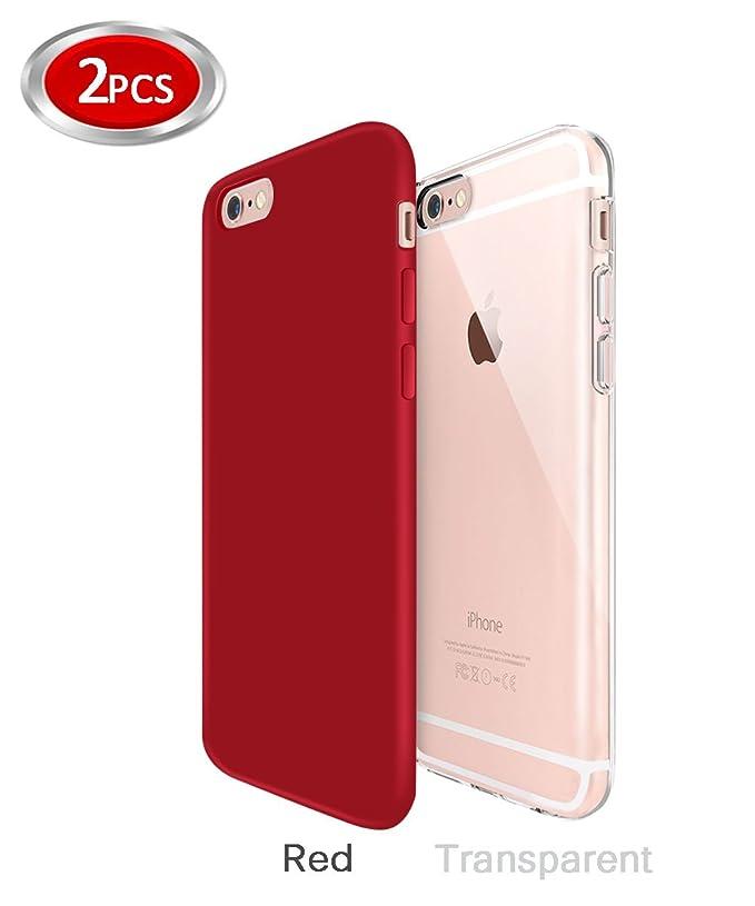 Funda iPhone 6/6s Zeuste Funda Carcasa Gel Transparente y ...