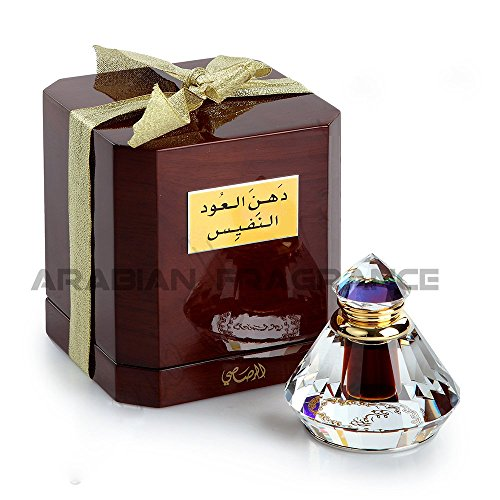 Dhan al Oudh al Nafees 6ml by Rasasi Luxury Oil/Woody/Rose/Amber by Rasasi